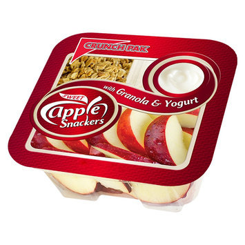 Crunch Pak Sweet Apple Snackers with Granola & Yogurt 4.75 oz