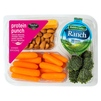 Taylor Farms Protein Punch Snack Tray 6.5 oz