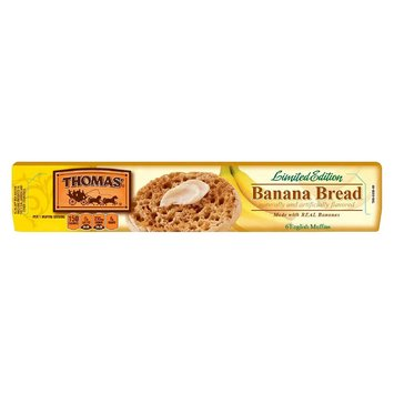 Thomas Limited Edition Seasonal English Muffins 6 ct