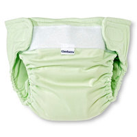 Gerber Newborn All in One Reusable Diaper with Insert - Sage L