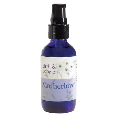 Motherlove Birth and Baby Oil - 2 fl oz