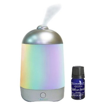 Sparoom Spa Mist Aromatherapy Oil Diffuser (includes free Essential Oil)