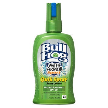 BullFrog 4.7 floz Sunscreen Blocks Uva Rays