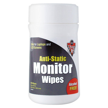Dust-Off DSCT Anti-Static Screen Cleaning Wipes
