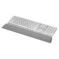Fellowes I - Spire Series Keyboard Wrist Rocker Wrist Rest - 2 9/16 x 18 1/4 - Gray