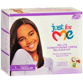 Just For Me Just for Me! No Lye Relaxer Kit, Regular, 1 set