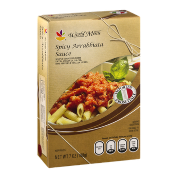 Ahold World Menu Spicy Arrabbiata Sauce