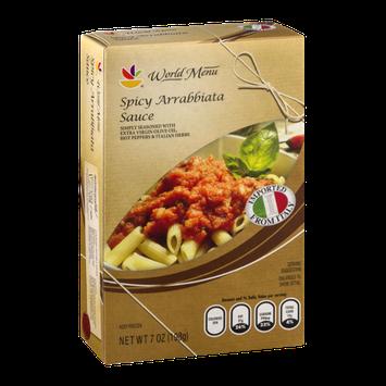 Ahold World Menu Spicy Arrabbiata Sauce