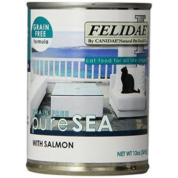 Canidae Felidae Canned Cat Food, Grain Free Salmon Formula, 13 Ounce Cans (Pack of 12)
