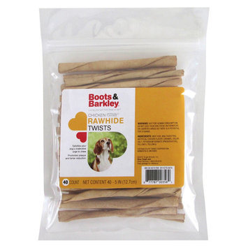 Summma Boots & Barkely Chicken Rawhide Twists 40ct