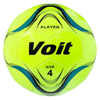 Lion Sports Voit Size 4 Player Soccer Ball Deflated - Neon Yellow