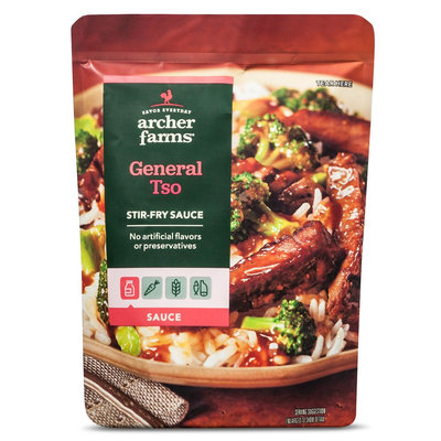 Bay Valley Foods Archer Farms General Tso's Sauce 8oz