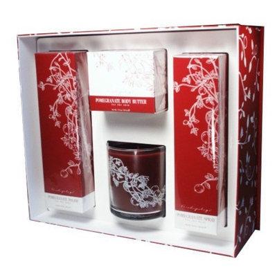 Archipelago Botanicals - Pomegranate Antioxidant Therapy Gift Set
