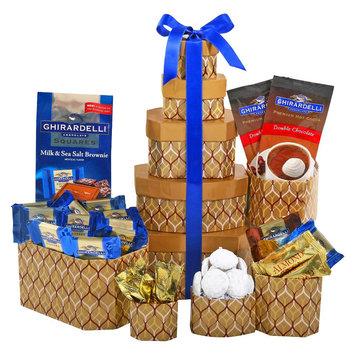 Alder Creek Gift Baskets Ghirardelli Chocolate Tower, 10 pc