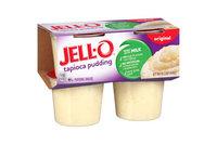 JELL-O Fat Free Tapioca Pudding Snacks