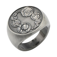 Body Vibe Doctor Who Masters Saxon Signet Finger Ring