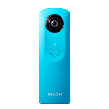 Ricoh Theta M15 360 Degree Spherical Panorama Camera, Blue