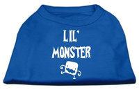 Ahi Lil Monster Screen Print Shirts Blue Sm (10)