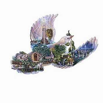 SunsOut Dove of Hope Shaped 1000 Piece Puzzle Ages 12+