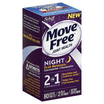 Move Free Joint Health Night 2 in 1 Formula Tablets - 80 Count