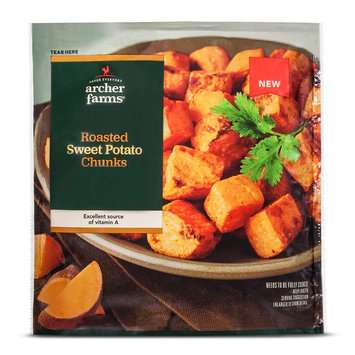 Archer Farms Roasted Sweet Potato Chunks 12OZ.