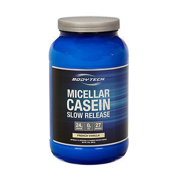 BodyTech 100% Casein Vanilla - 2 Pound Powder - Protein Shakes