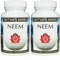 Neem Extract 500 Mg 240 Vcaps (2 Pack - 120 ct./ea)