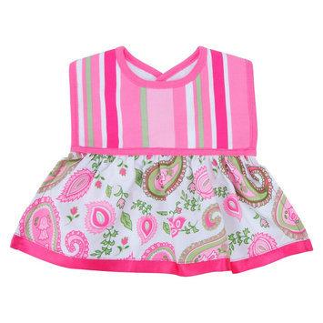 Trend Lab Infant Baby Newborn Saliva Towel Dress Up Bib - Paisley Park