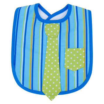 Trend Lab Infant Baby Newborn Saliva Towel Dress Up Necktie Bib - Levi