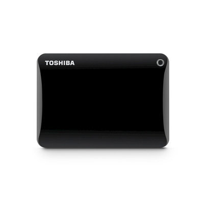 Toshiba Canvio Connect II 3TB Portable Hard Drive - Black (HDTC830XK3C1)