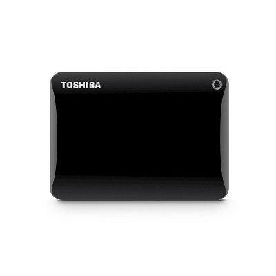 Toshiba - Canvio Connect Ii 2TB External USB 3.0 Portable Hard Drive - Black