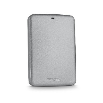 2TB Toshiba Canvio® Basics Portable Hard Drive (Silver)