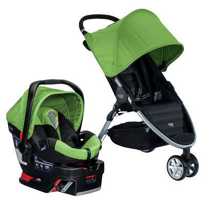 Britax B-Agile 3/B-Safe 35 Travel System - Meadow