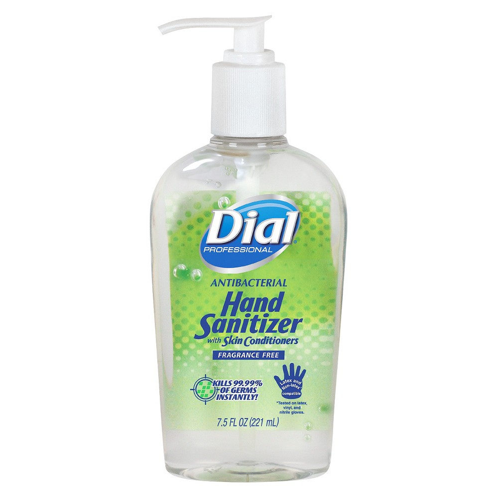 Dial Unscented Hand Sanitizer