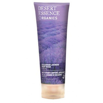 Desert Essence Body Wash Bulgarian Lavender