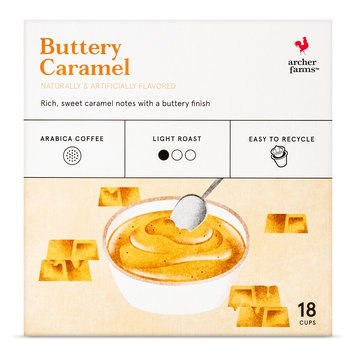 Keurig Buttery Caramel Single Cups 18ct - Archer Farms