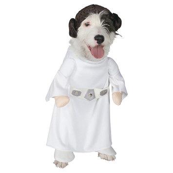Rubies Costume Company Princess Leia Pet Costume - L