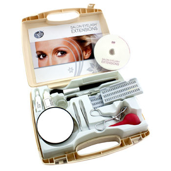 Rio Salon Eyelash Extensions Kit For Natural Looking Beautiful Lashes