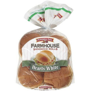Pepperidge Farm Hearty White Farmhouse Sandwich Rolls, 22 oz