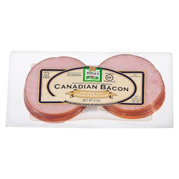 Jones Dairy Farms Jones 6 Oz Canadian Bacon