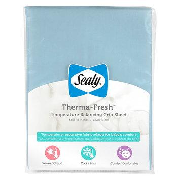 Therma-Fresh Crib Sheet - Blue by Sealy