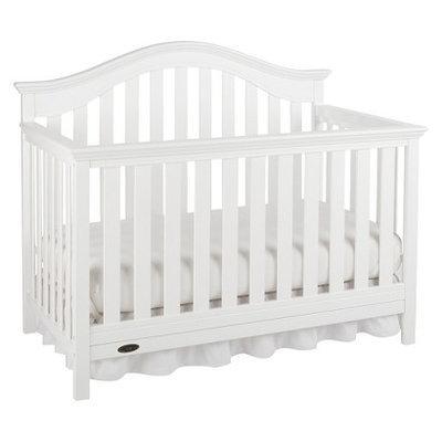Graco Bryson 4-in-1 Convertible Crib - White