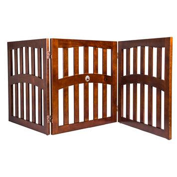 Elite Home Fashions Ethan Pets Barrett Convertible Dog Gate - 3 Panels (32