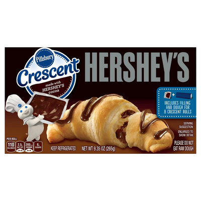 Hershey's Pillsbury Crescent Roll