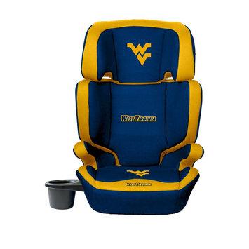 Wild Sports West Virginia Mountaineer Lil Fan Collegiate Club Seat Premium 2 in 1 High Back Booster Seat