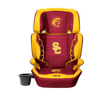 Wild Sports Southern California Trojans Lil Fan Collegiate Club Seat Premium 2 in 1 High Back Booster Seat