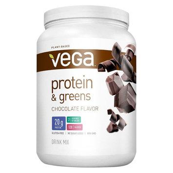 Vega Protein & Greens Chocolate Protein Powder - 18.6 Ounces