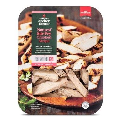 Golden West Trading, Inc. AF M & M Natural Stir Fry Chicken Strips (Asian)