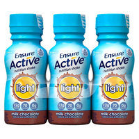 Ensure Active Light Milk Chocolate Nutritional Shake - 6 Count