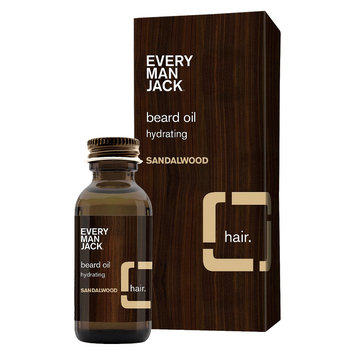 Every Man Jack Sandalwood Beard Oil - 1 oz